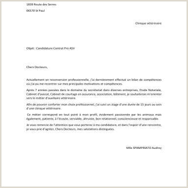 Exemple De Cv forem Simple Lettre De Motivation Spontanée forem Vademecum Stages