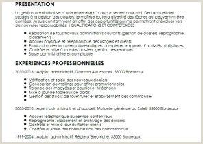 Exemple De Cv Gestion Administration Brain Sa Page 54 Sur 74