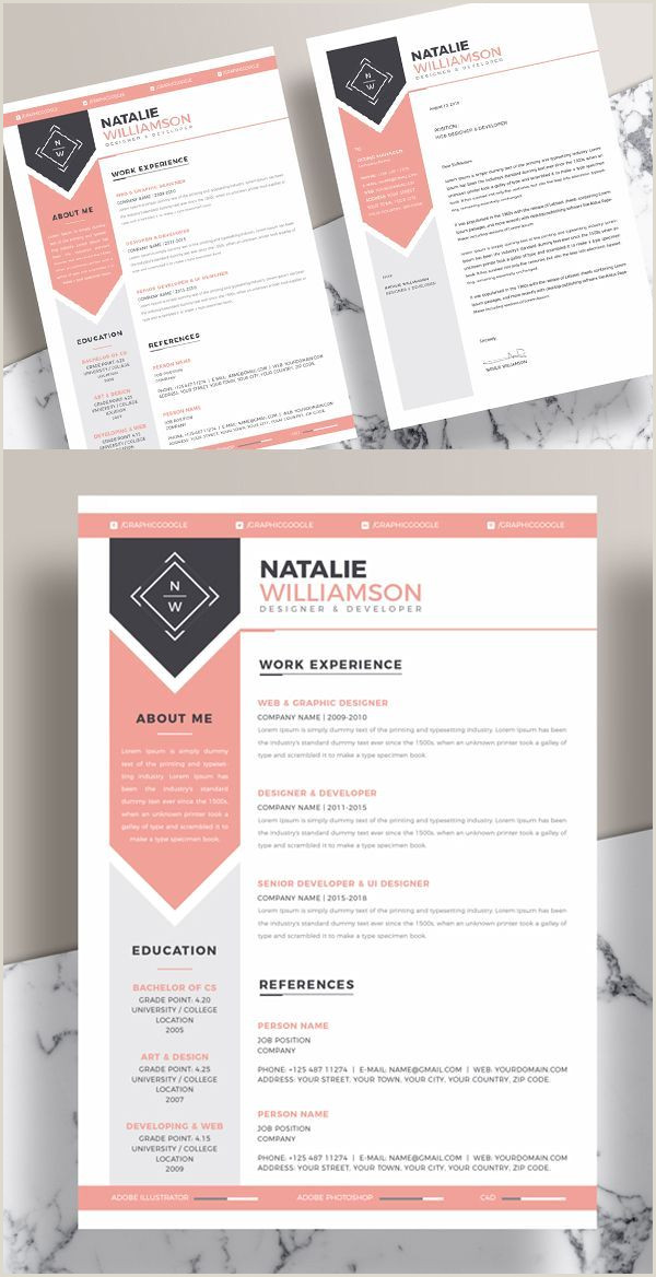 25 Fresh Free Professional Resume Templates 19