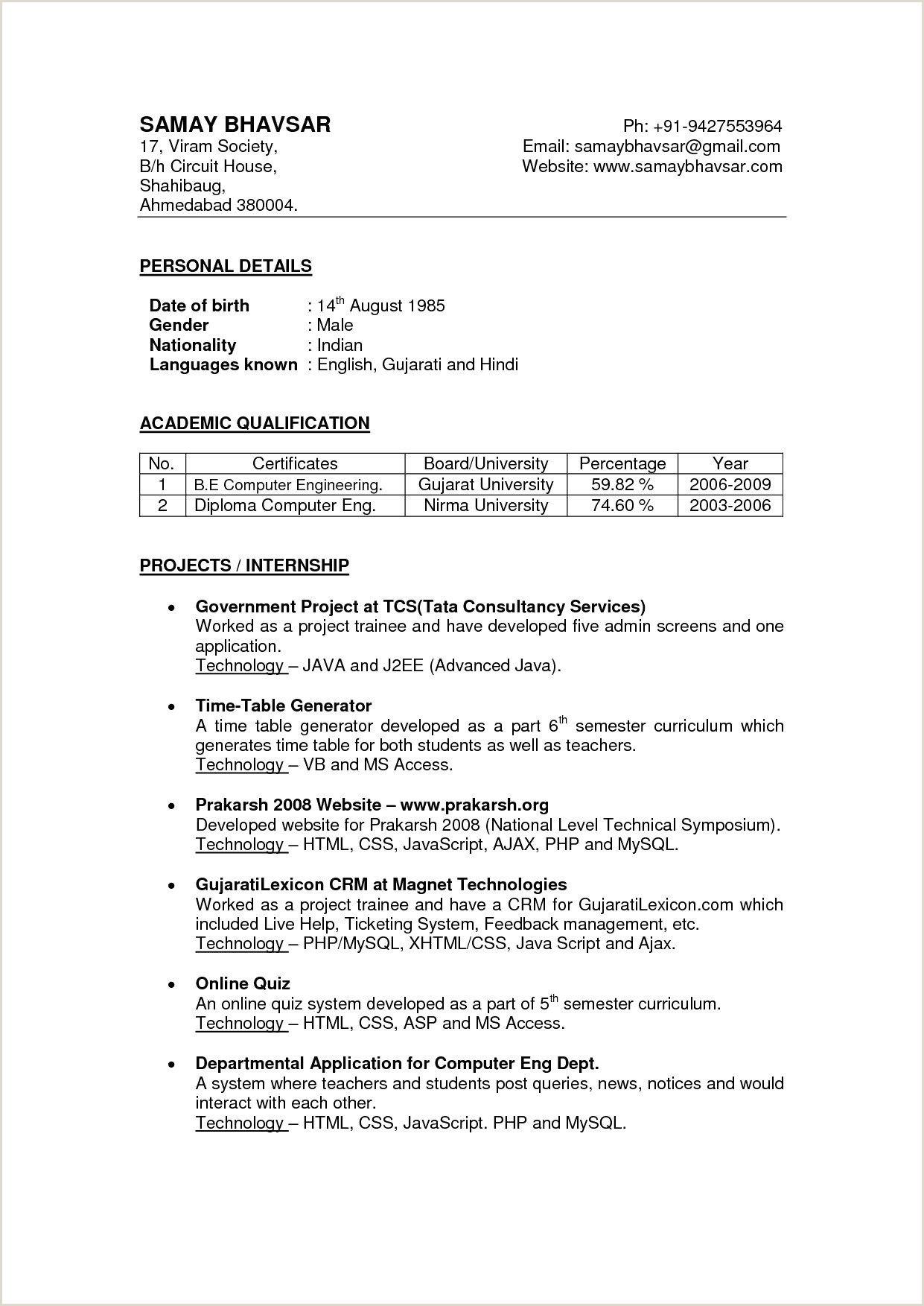 Collection de CV – Page 182 – Collection de CV