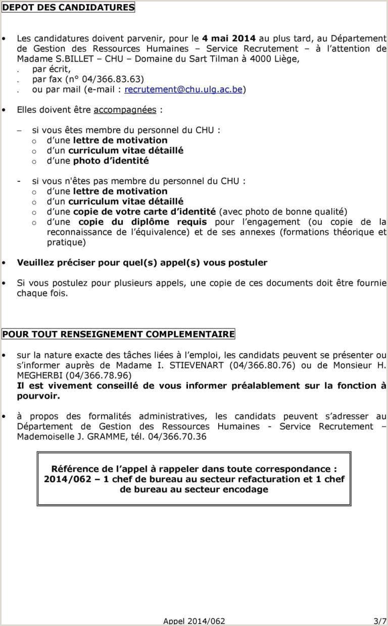 Cv Facteur La Poste Exemple