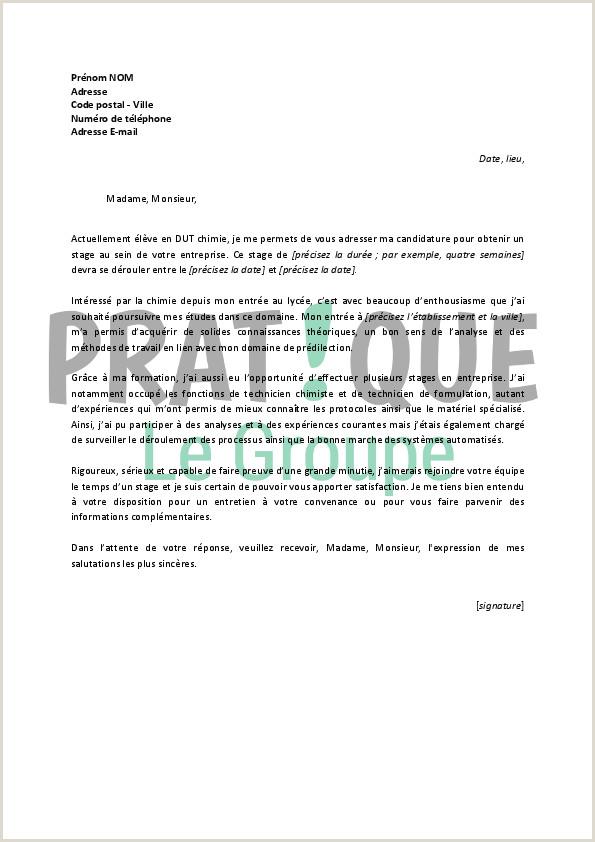 Lettre Pour Demande De Nettoyage