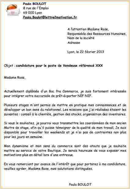 Exemple De Cv Ivoirien Lettre De Motivation Pour Un Emploi Pdf Exemplaire De Lettre