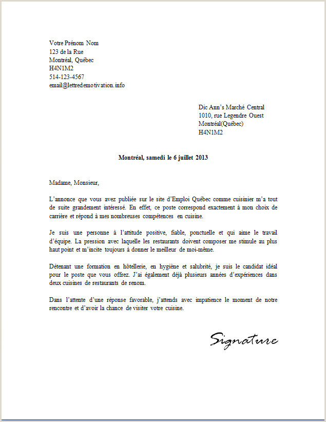 Exemple De Cv Job Dété Lettre De Motivation Vendeuse