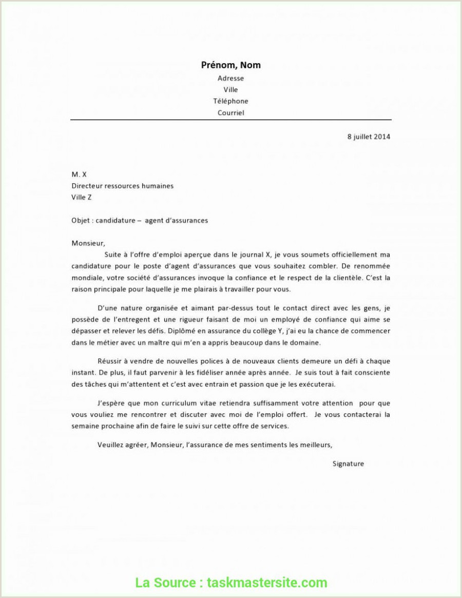 De Valeur Lettre De Motivation Juriste Droit Sociétés