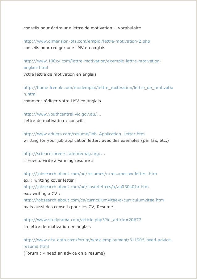 Exemple De Cv Simple Model Resume Sample Inspirational