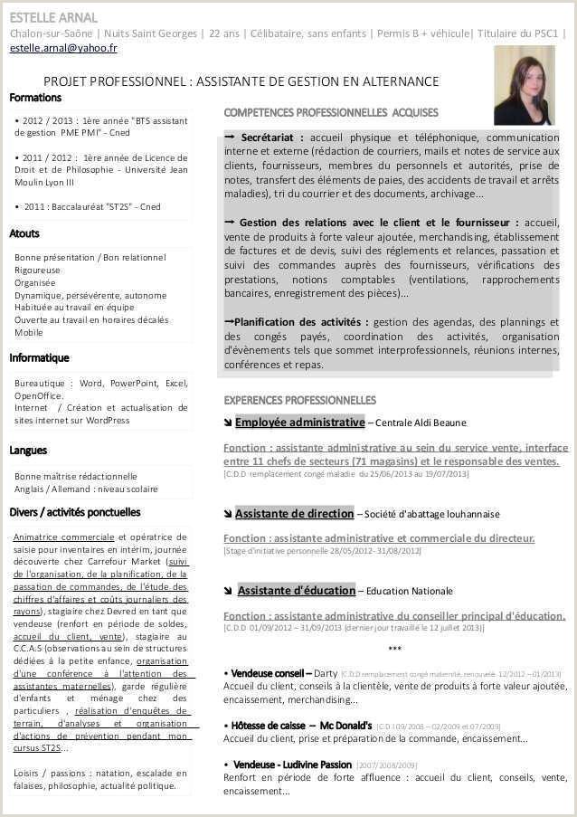Exemple De Cv Licence Biologie Modele Lettre Envoi Devis Client Modele Lettre Cession