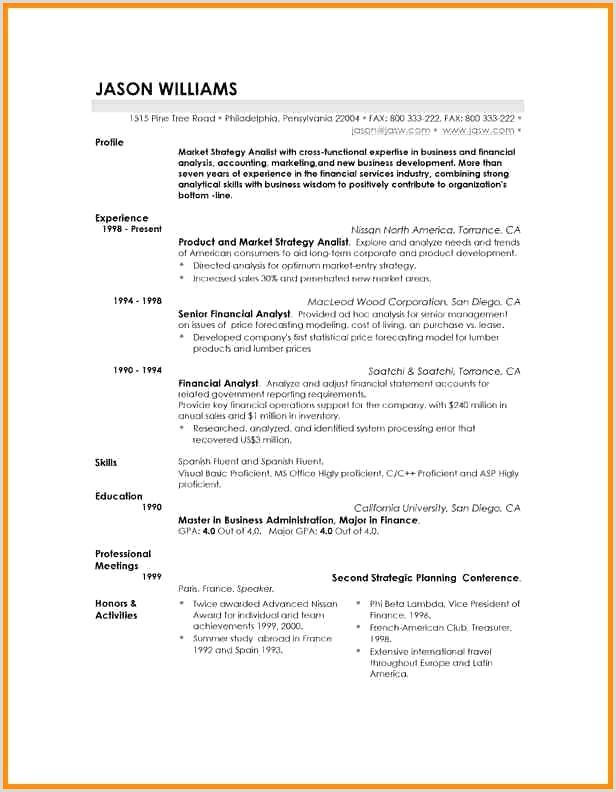 Exemple Cv Moderne Beau Dispensary Resume Examples