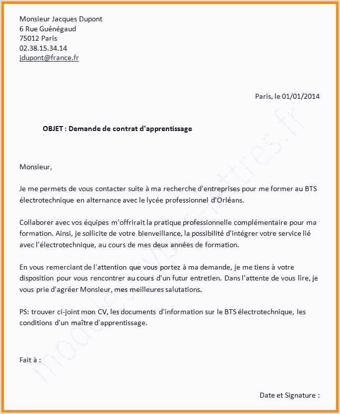 Lettre De Motivation assp 15 Exemple Cv Bac Pro