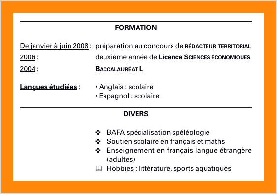 Exemple Lettre De Motivation Alternance Frais Exemple Cv