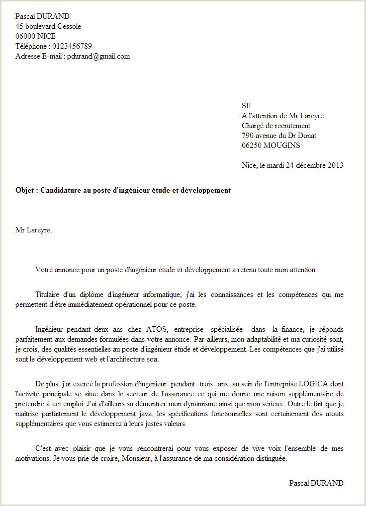 Lettre De Motivation D Employé Libre Service Exemple De Cv