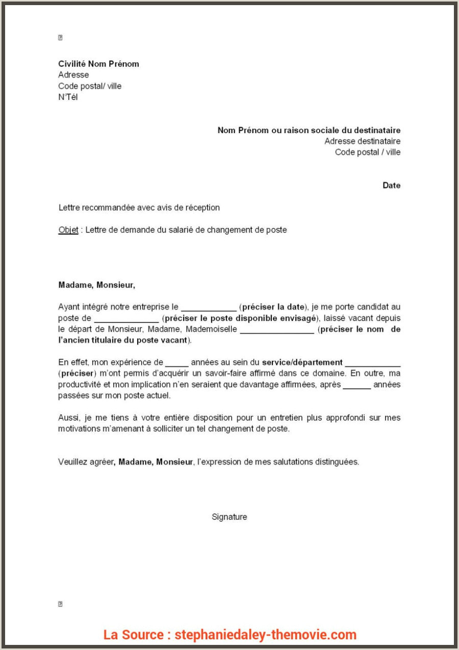 Expert Lettre De Motivation Stage g 15 Lettre De