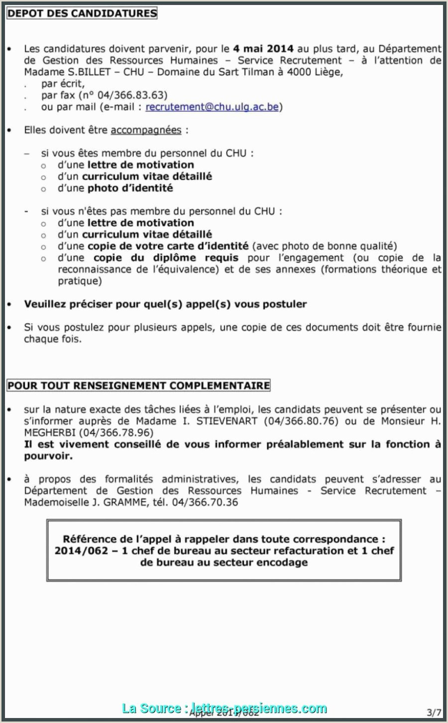 Exemple De Cv Pdf 2014 Lettre De Motivation Humanitaire Excellent Lettre De