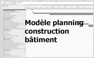 exemple de mod¨le planning travaux construction b¢timent