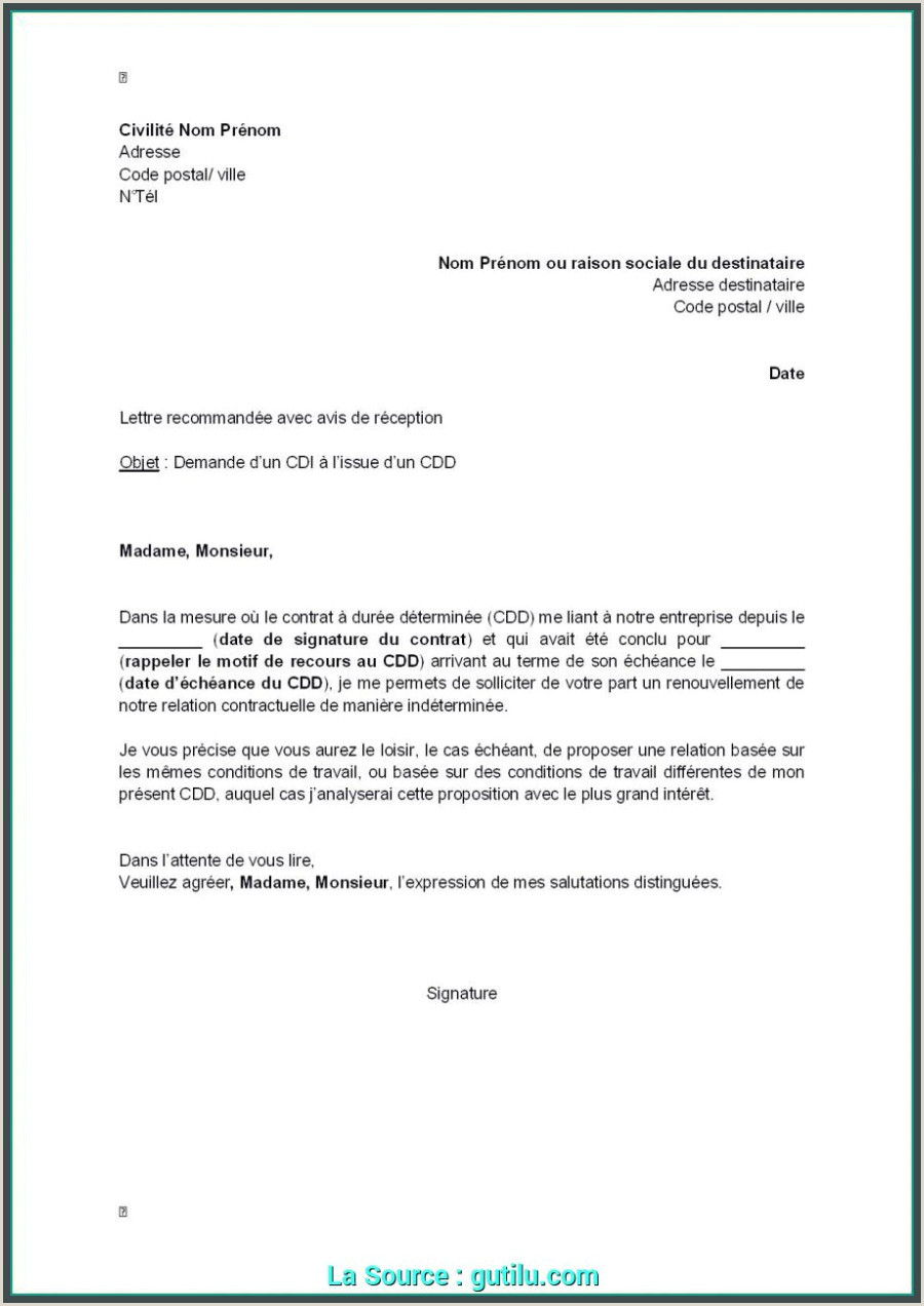 Exemple De Cv Pdf Modifiable Idéal Lettre De Motivation Serveuse Vendeuse Exemple Cv