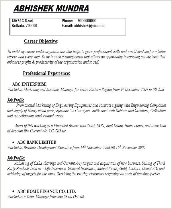 Exemple curriculum cv trame