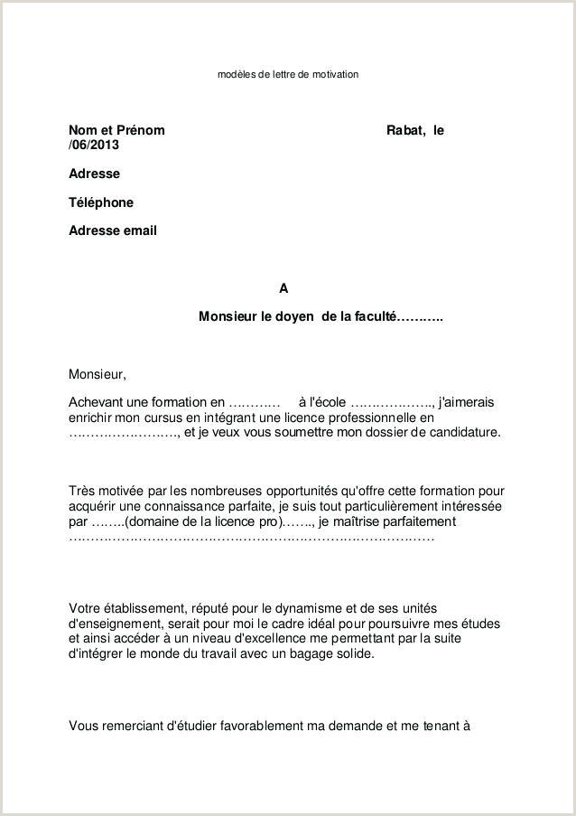 Exemple De Cv Pour Campus France Pdf Lettre De Motivation Pour Campus France Pdf