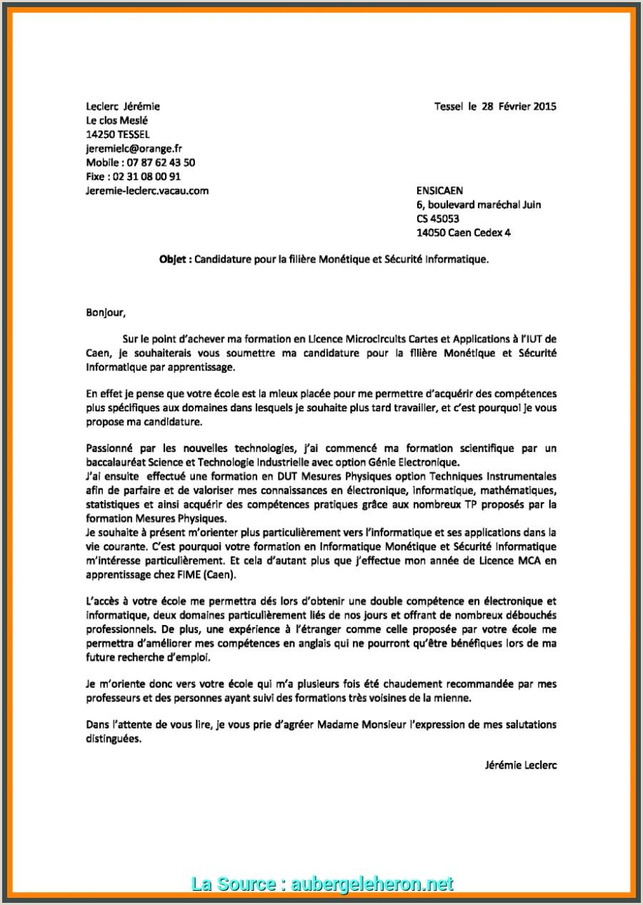 Exemple De Cv Pour Campus France Pdf Nouvelle Exemple De Lettre De Motivation En Francais Pdf