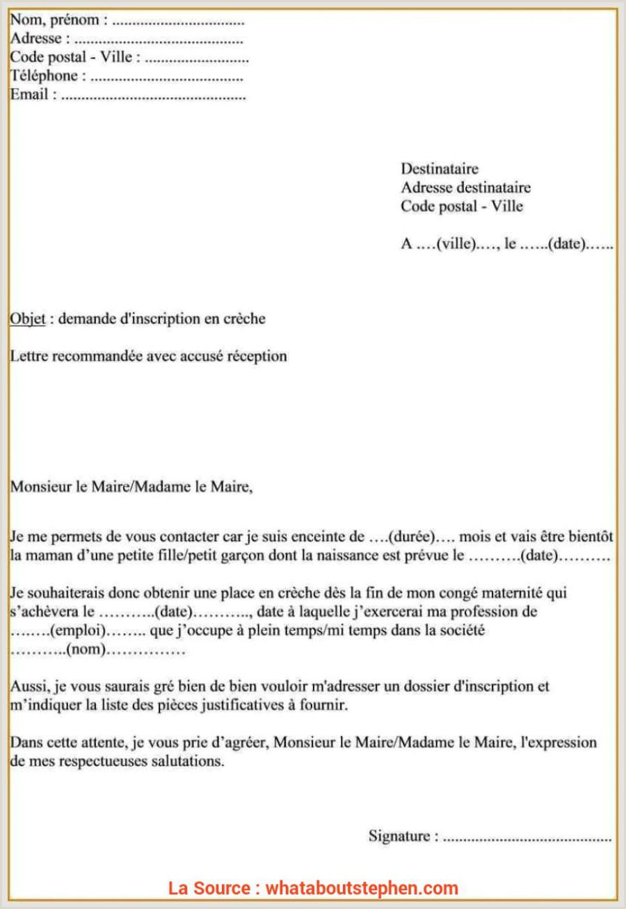 Exemple De Cv Pour Demande Demploi Pdf Qualifié Lettre De Demande D Emploi Barman Exemplaire De