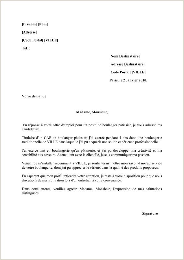 Exemple De Cv Pour Emploi Pdf Cv Boulanger Patissier Pdf