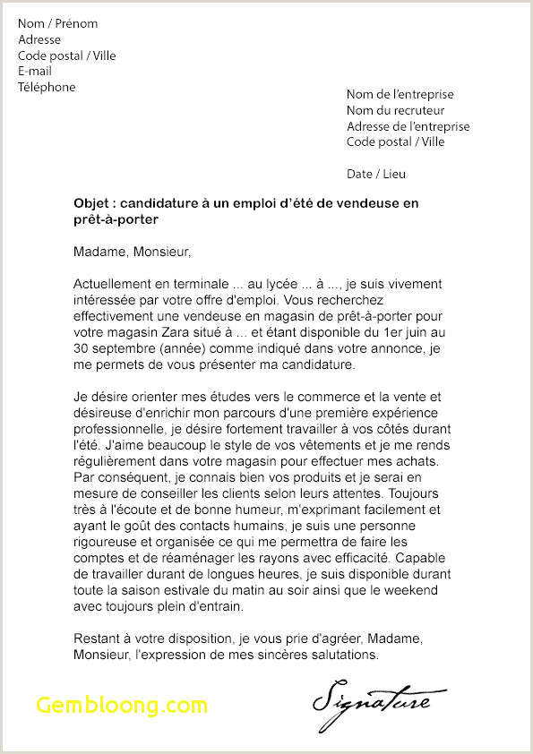 Lettre De Motivation Els Nouveau Exemple De Cv Infirmier