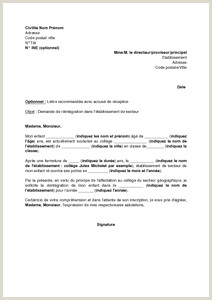 Exemple De Cv Prof De Français Modele Lettre De Motivation Inscription Ecole Privee