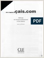 Exemple De Cv Prof De Français Pdf Le Fran§ais De La Munication Professionelle Pdf Pdf
