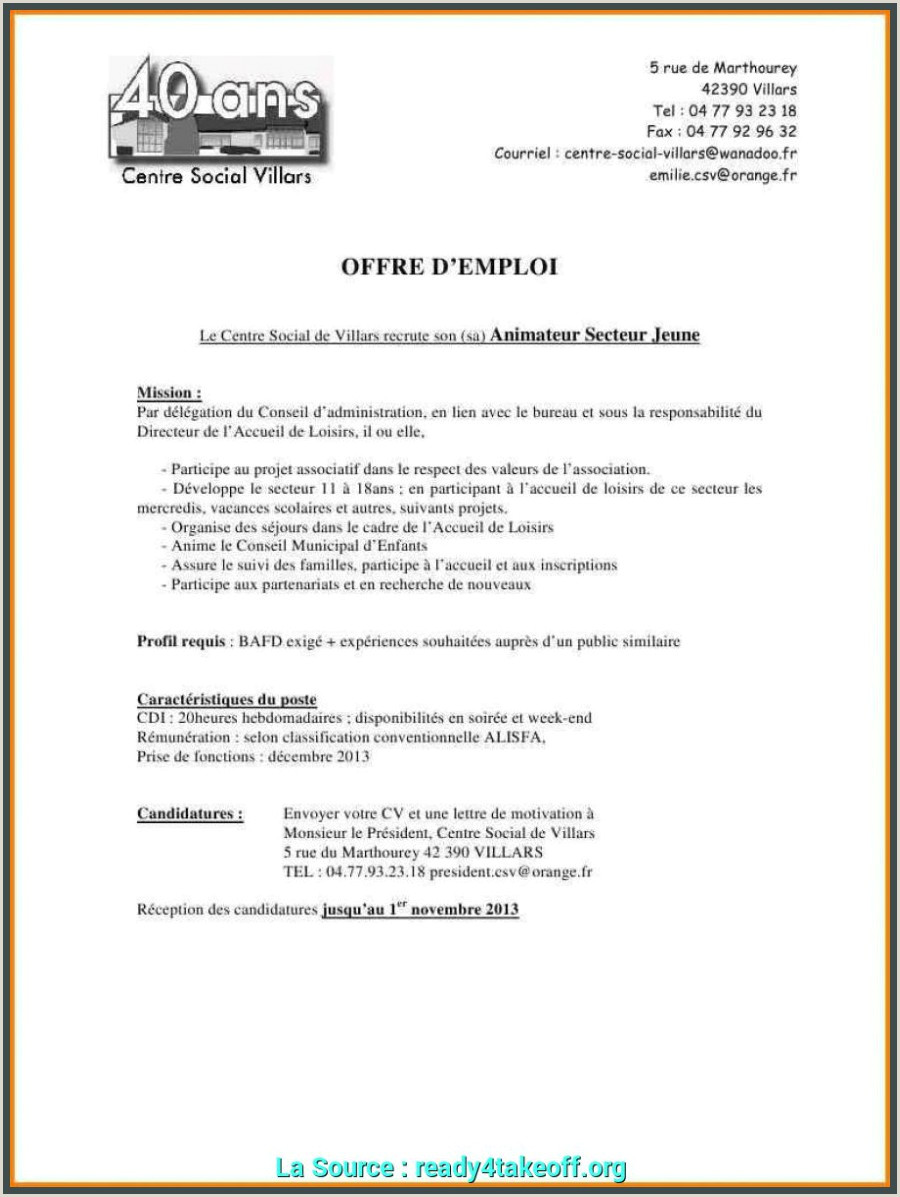 Exemple De Cv Professionnel En Pdf Nouveau Telecharger Exemple De Lettre De Motivation Pdf