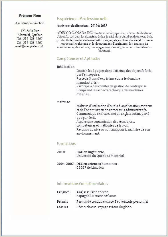 Exemple De Cv Qc Cv Magasinier Collections De Lettre De Motivation Magasinier