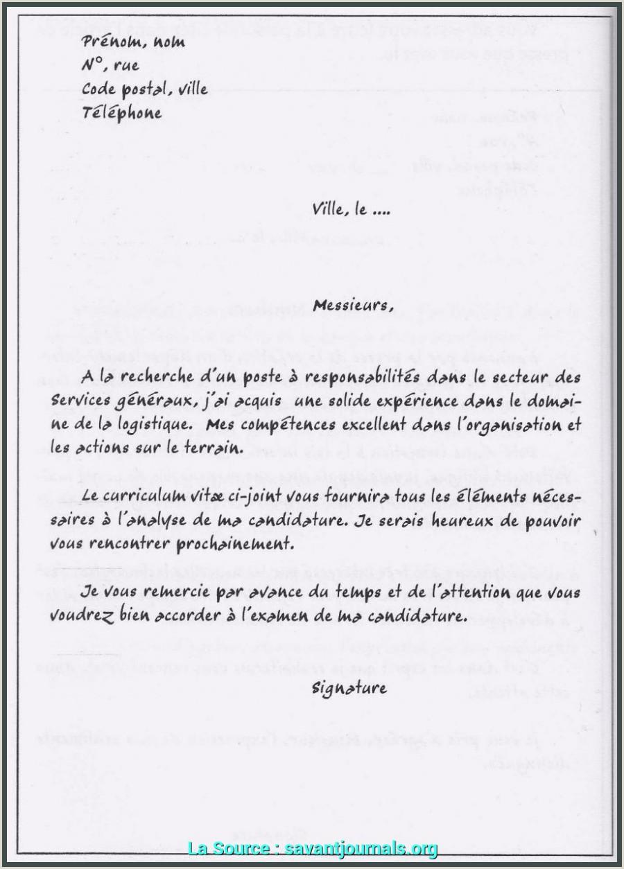 Achevée Accroche Originale Lettre De Motivation Exemple De