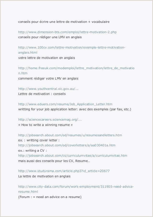 Exemple De Cv Recherche Demploi 72 Lettre De Motivation Chercheur D Emploi