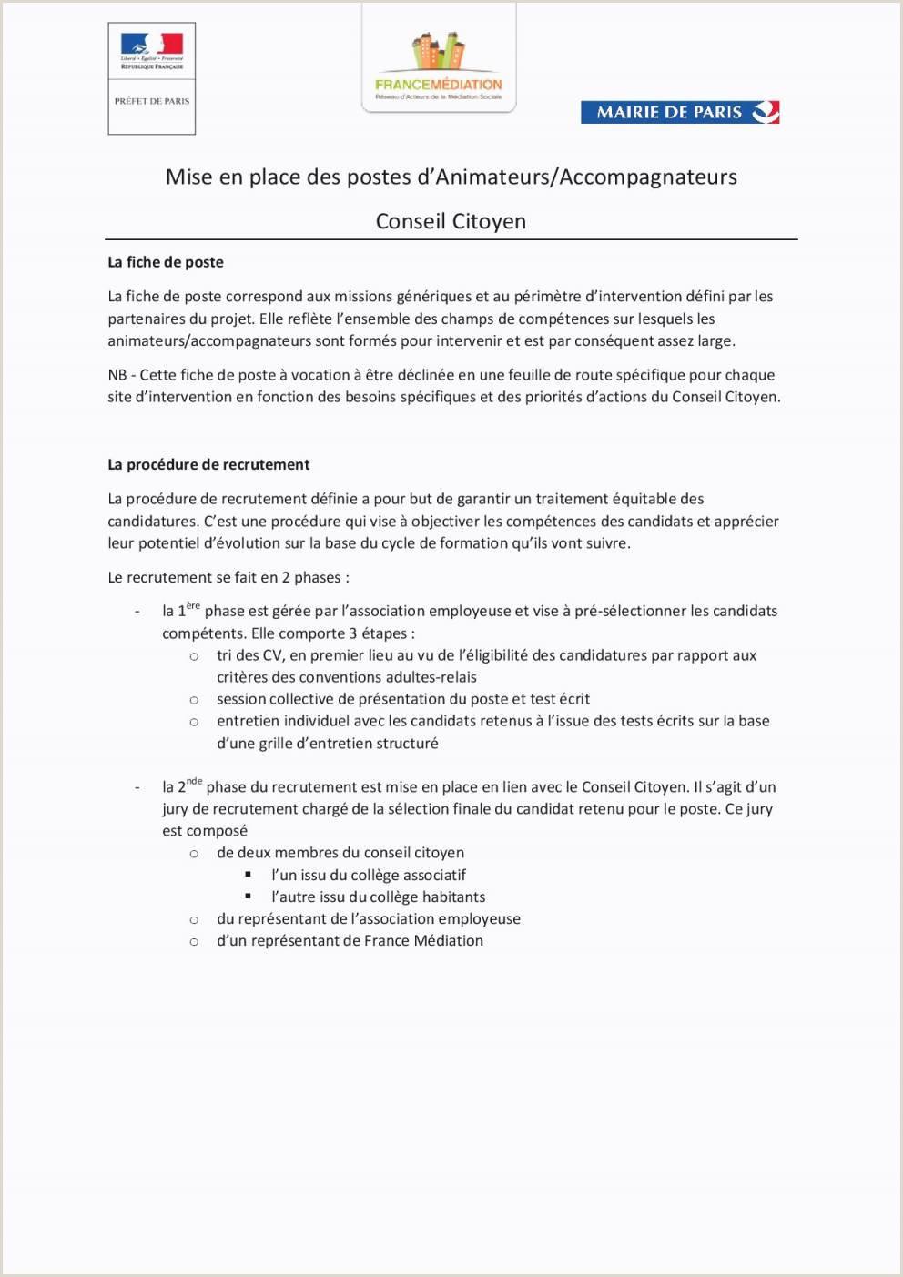 Exemple De Cv Ressources Humaines Et Communication 83 Exemple Lettre De Motivation Bpjeps Animation sociale