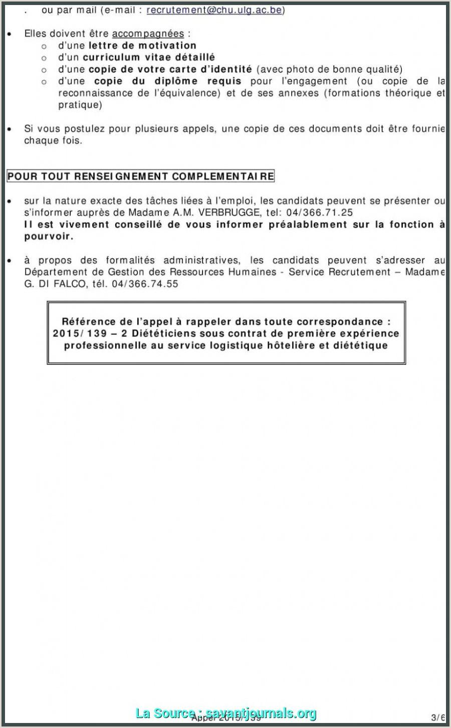 Exemple De Cv Sans Diplome Dernier Modele Lettre De Motivation Auxiliaire De Sans