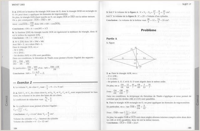 Exemple De Cv Thématique école Références Brevet Mathématiques Annales Exercices