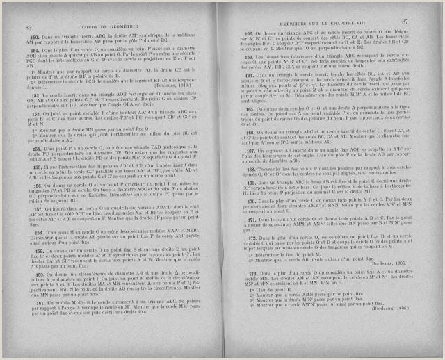 Exemple De Cv Thématique Manuels Anciens Ligel Cours De Géométrie Classe De