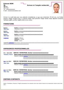 Exemple De Cv Tunisie Word Bugs Buggy Page 392 Sur 751
