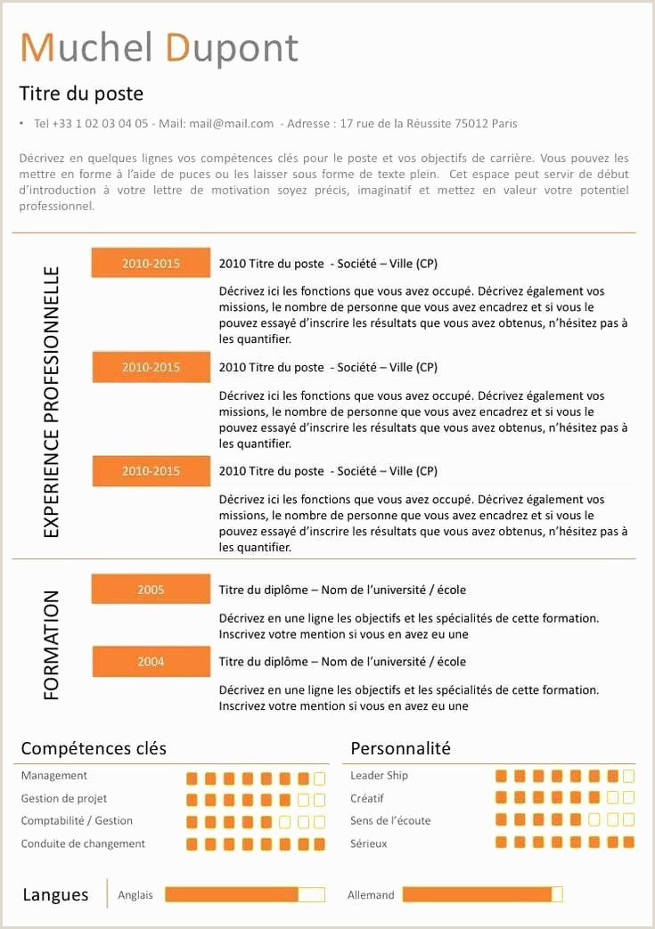 Lettre De Motivation Dominos Le Cv Exemple Modele Cv Cadre