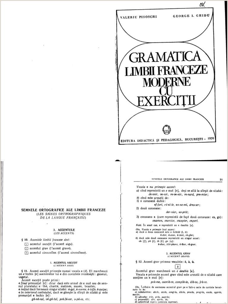 Gramatica Fr Pisoschi & Ghidu