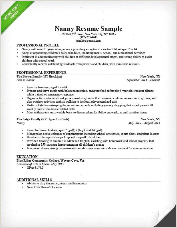 Modele Lettre Facture Exemple De Cv Post Bac Beau Cv Post