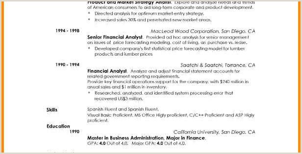 Modele Cv merce échantillon 78 Exemples Cv Analyste
