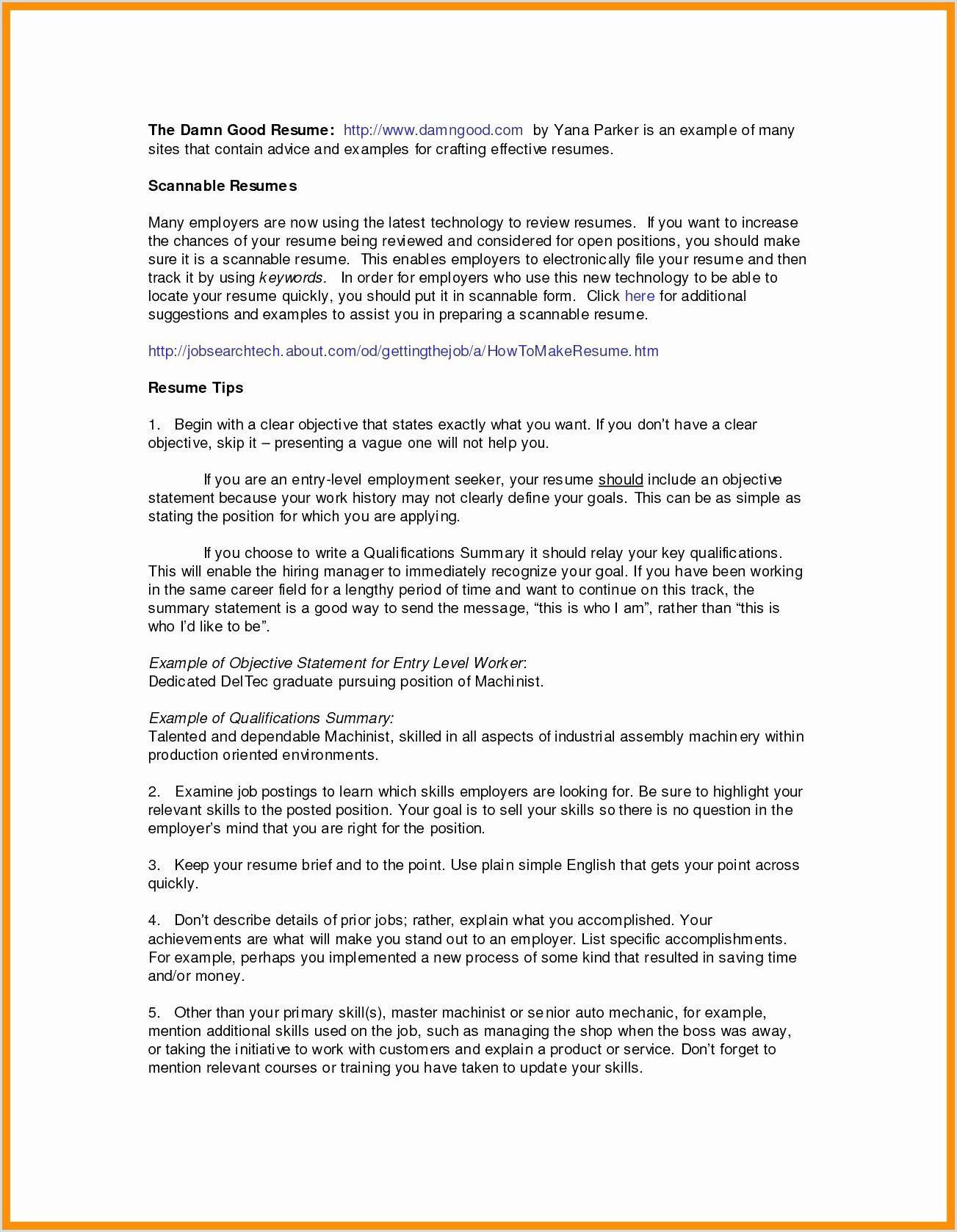 Exemple De Cv Vide Example Cv Resume