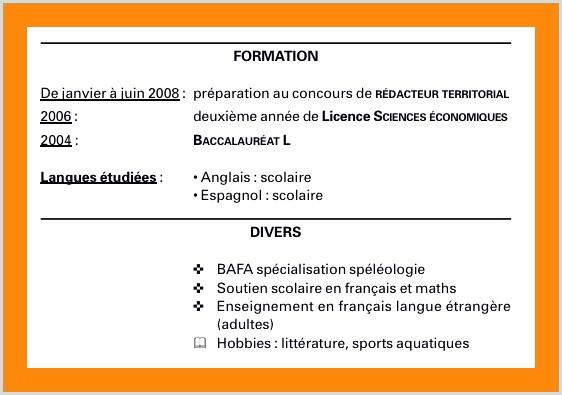 Exemple De Lettre De Motivation Licence Espagnol Nouvelle