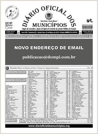 Edi§£o 3787 by Diário icial dos Municpios issuu
