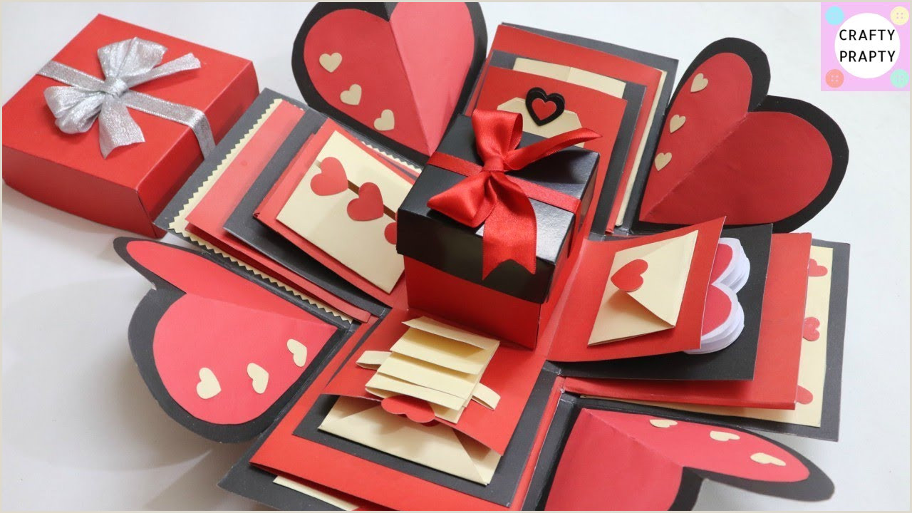 How to make Explosion box DIY Valentine s Day Explosion Box Explosion Box Tutorial