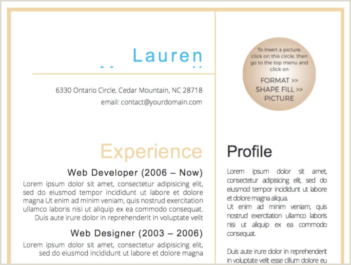Facebook Profile Template Word 50 Free Microsoft Word Resume Templates Updated August 2019