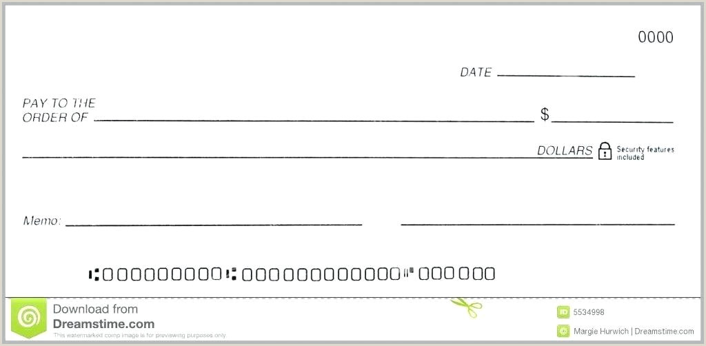 Editable Blank Cashiers Check Template Free Word Resume