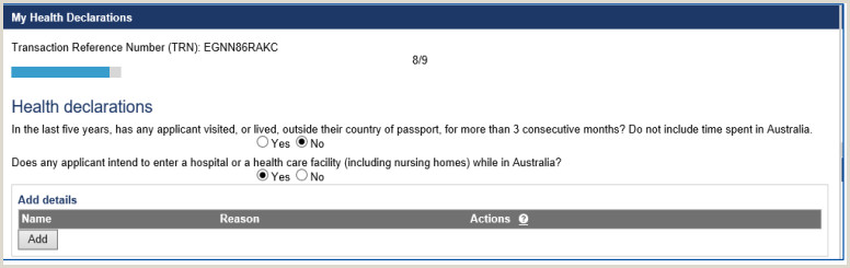 Generate HAP ID for Medical Before Submitting 189 190 Visa