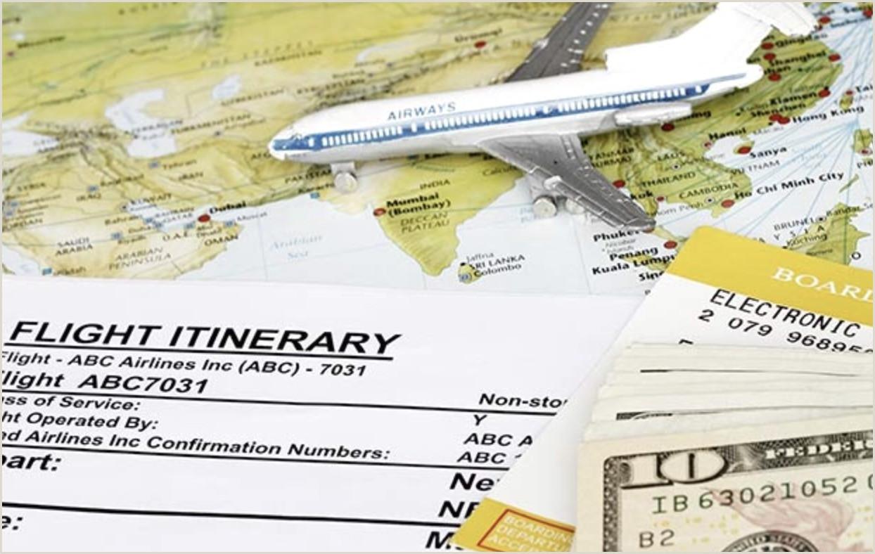 Fake Return Flight Ticket Return Flight ward Travel