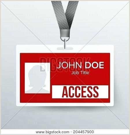 press id card template