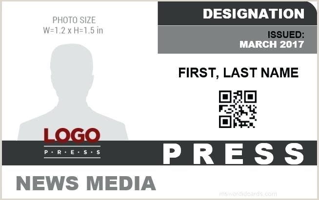 Fake Press Pass Template Press Pass Template Pdf